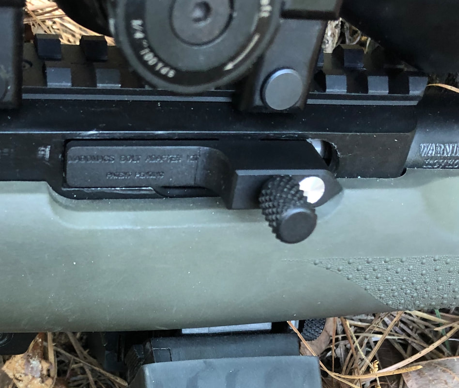 3 SPRINGS 10//22 Ruger Extended Charging Handle 1022 10-22 BLUE KNURLED 3//4 in