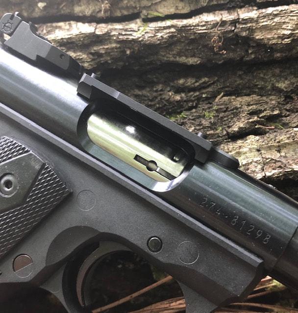 RUGER Blued Filler Screws Mark 1 2 3 4 Scope Base Mount MK II III IV 22//45 LITE